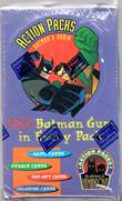 THE ADVENTURES OF BATMAN AND ROBIN ACTION PACKS TRADING CARD BOX