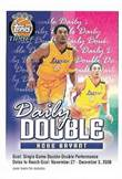 2000-01 Topps Tip-Off - Daily Double