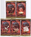 Magic the Gathering - 5 Chinese boosters - 4th edition