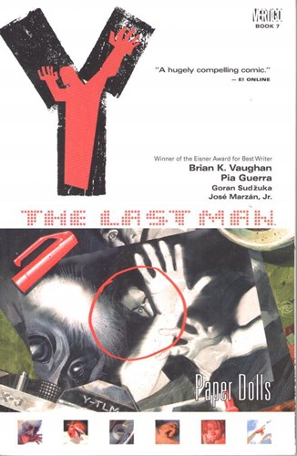 Y, the last man 7 - Paper dolls