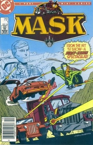 Mask - Miniseries 1-4 - Mask - 4 part mini series - Compleet