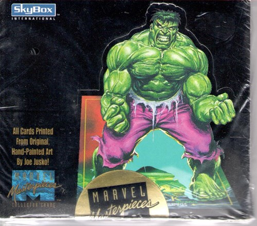 Marvel Masterpieces collector cards Skybox