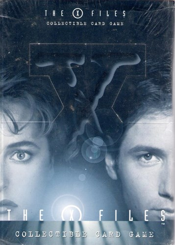 The X files - Collectible Card Game - starter decks box