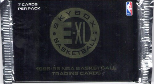 NBA Basketball Trading Cards 1995-96 - 11 packs