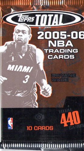 NBA Basketball total Hobby 2005-06 - 11 packs