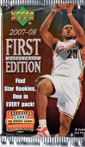 NBA First edition 2007-08 - 7 pack