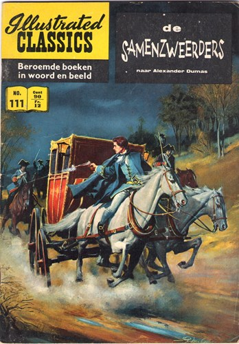 Illustrated Classics 111 - De samenzweerders, Softcover, Eerste druk (1960) (Classics International)
