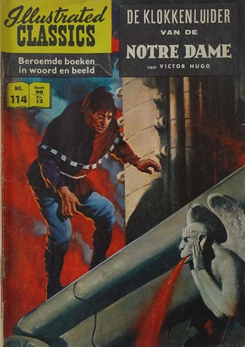 Illustrated Classics 114 - De klokkenluider van de Notre Dame, Softcover, Eerste druk (1960) (Classics International)