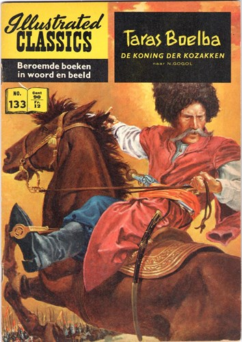 Illustrated Classics 133 - Taras Boelbade koning der Kozakken, Softcover, Eerste druk (1961) (Classics International)