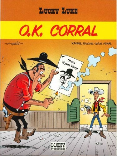 Lucky Luke - 2e reeks 37 - O.K. Corral, Softcover, Eerste druk (1998), Lucky uitgaven (Lucky Productions)