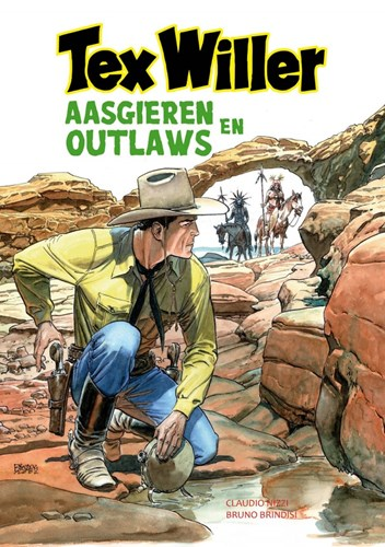 Tex Willer - Classics (Hum!) 4 - Aasgieren & Outlaws, Softcover (Hum)