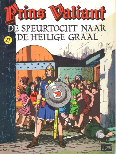Prins Valiant - Semic Press  27 - De speurtocht naar de Heilige Graal, Softcover, Prins Valiant - Semic (Junior Press)