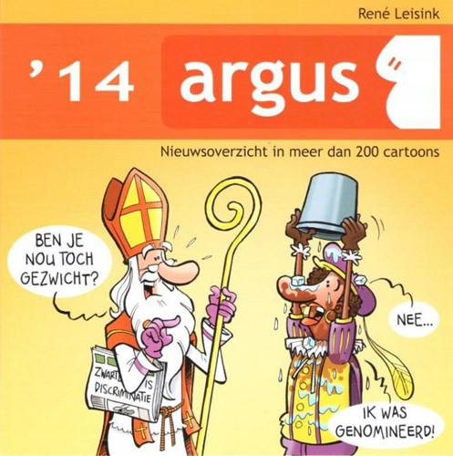 Argus Nieuwsoverzicht in meer dan 200 cartoons 14 - '14, Softcover (Don Lawrence Collection)