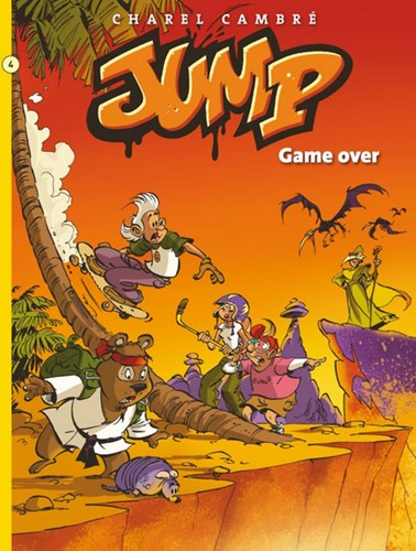 Jump 4 - Game over!