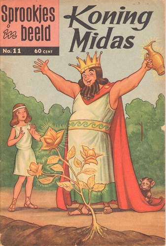 Sprookjes in Beeld 11 - Koning Midas, Softcover (Classics Nederland)