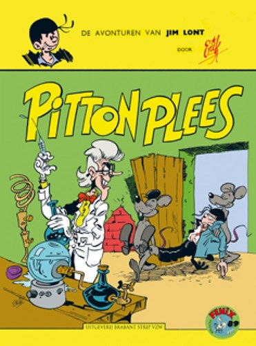 Fenix Collectie 89 / Avonturen van Jim Lont, De  14 - Jim Lont - Pitton Plees, Softcover (Brabant Strip)
