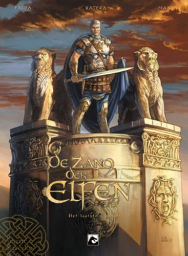 Zang der Elfen, de 2 - De barbaarse invasies, Hardcover (Dark Dragon Books)