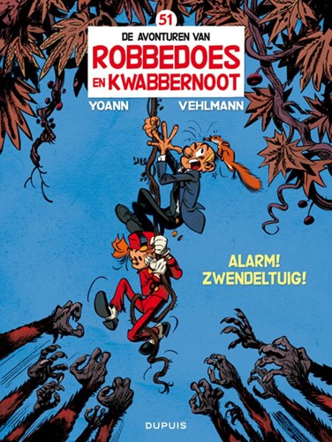 Robbedoes en Kwabbernoot 51 - Alarm! Zwendeltuig!, Softcover (Dupuis)