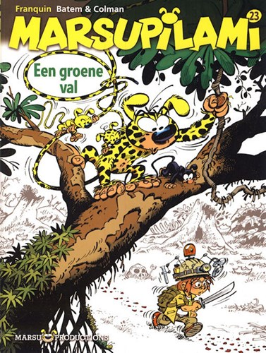 Marsupilami 23 - Een groene val, Softcover (Marsu Productions)