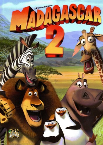 Madagascar (Jungle reeks) 2 - Madagascar 2, Softcover (Casterman)