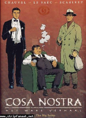 Cosa Nostra 6 - The big seven, Hardcover (Silvester Strips & Specialities)