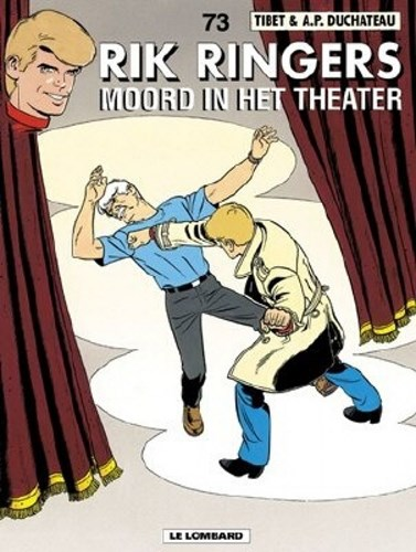 Rik Ringers 73 - Moord in het theater, Softcover (Lombard)