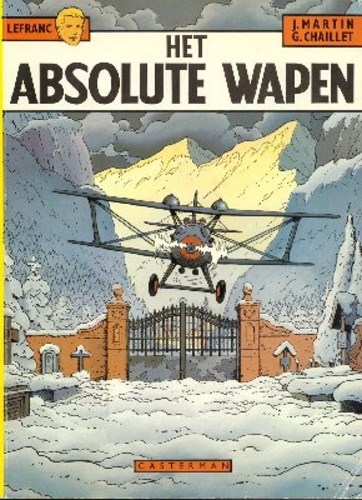Lefranc 8 - Het absolute wapen, Softcover (Casterman)