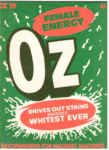 OZ Magazine 29 - Female Energy, Softcover, Eerste druk (1970) (OZ Publications)