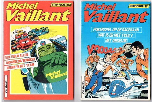 Michel Vaillant - Pockets  - Deel 1 en 2, Softcover (Gary Publishing)