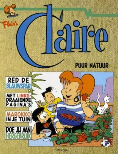 Claire 7 - Puur natuur, Softcover (Divo)