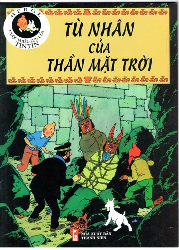 Kuifje - Anderstalig/Dialect   - Tu Nhan cua Than Mat tro'i, Softcover (Casterman)