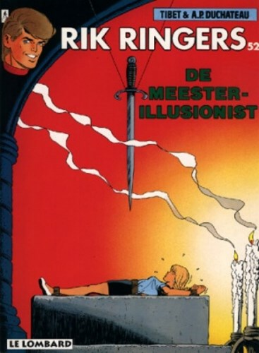 Rik Ringers 52 - De meester-illusionist, Softcover (Lombard)