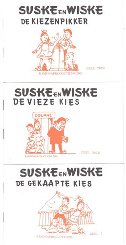 Suske en Wiske - Diversen  - Complete set Prodent uitgaven, Softcover (Ramona productions)