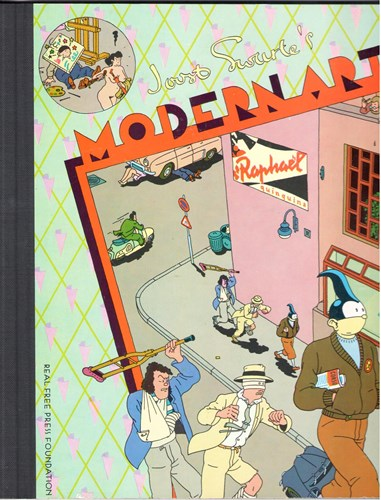 Joost Swarte - Collectie  - Modern Art, Hardcover (Real Free Press)