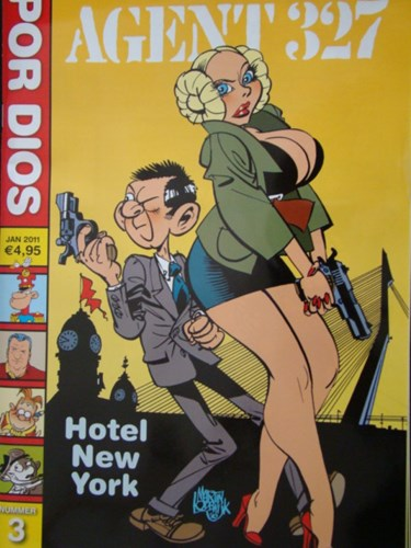 Por Dios 3 - Agent 327, Softcover (Don Lawrence Collection)