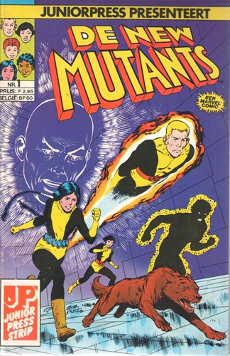 New Mutants, De   - Complete reeks van 21 delen, Softcover (Junior Press)