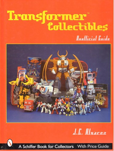 Transformers - diversen  - Transformer collectibles - A Schiffer book for collectors, Hardcover (Schiffer Publishing)