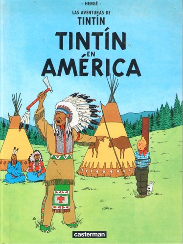 Kuifje - Anderstalig/Dialect   - Tintin en América, Hardcover (Casterman)