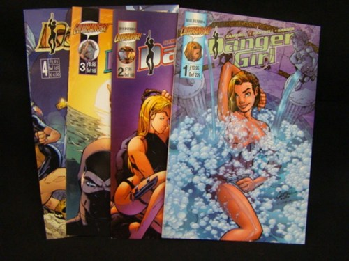 Danger girl - JP pakket - Dangergirl deel 1 t/m 4, Softcover (Junior Press)