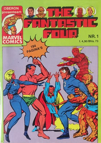 Fantastic Four  - Oberon pockets 2 delen compleet, Softcover (Marvel)