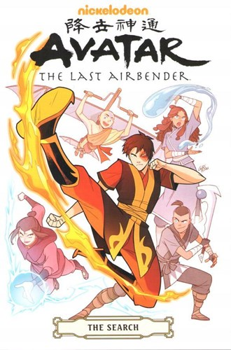 Avatar - The last Airbender  - The Search, Softcover (Dark Horse Comics)