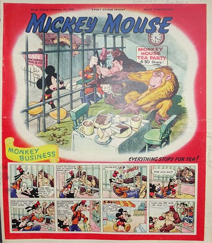 Mickey Mouse Weekly 478 - Monkey business, Softcover (Willbank Publications)