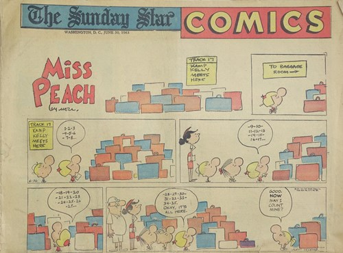 Sunday star Comics, The  - Miss Peach, Softcover (The Sunday Star)