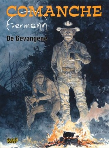 Comanche 0 - De gevangene, Softcover, Eerste druk (1998) (Strip Art Features)
