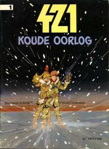 Agent 421 1 - Koude oorlog, Softcover (Dupuis)