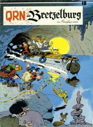 Robbedoes en Kwabbernoot 18 - Qrn op Bretzelburg, Softcover (Dupuis)