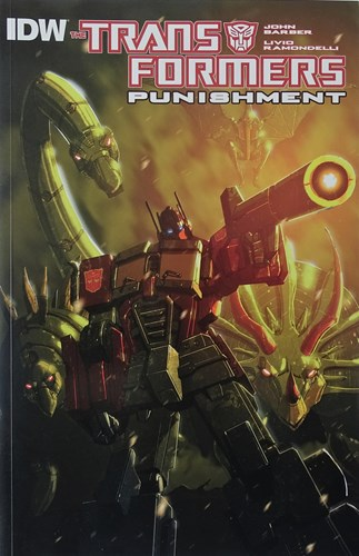 Transformers  - Punishment, Softcover (IDW Publishing)