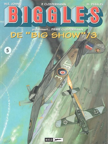 Biggles presenteert.../Airfiles 5 - De Big Show 3, Softcover (Miklo)