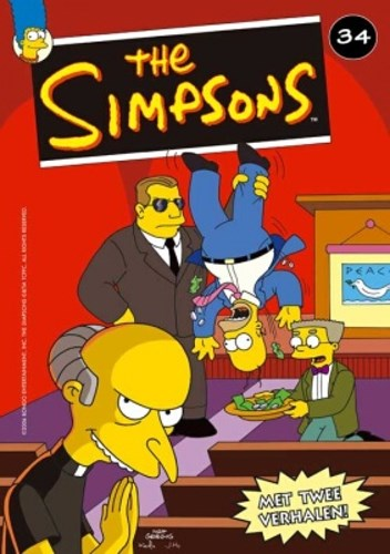 Simpsons, The 34 - In burns geloven wij + Gans Grieks, Softcover (Mezzanine)