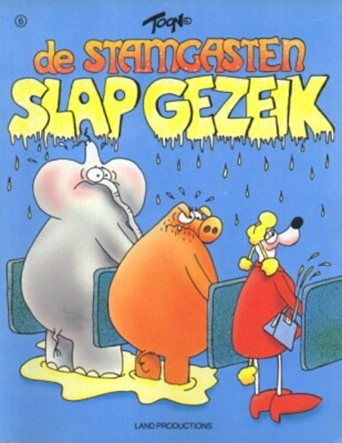Stamgasten 6 - Slap gezeik, Softcover (Land Productions)
